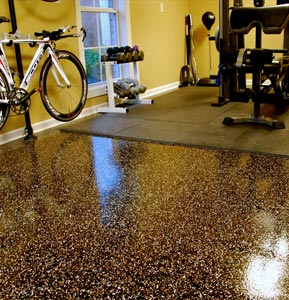 F1 Fast Floor System - Basic Workout Room